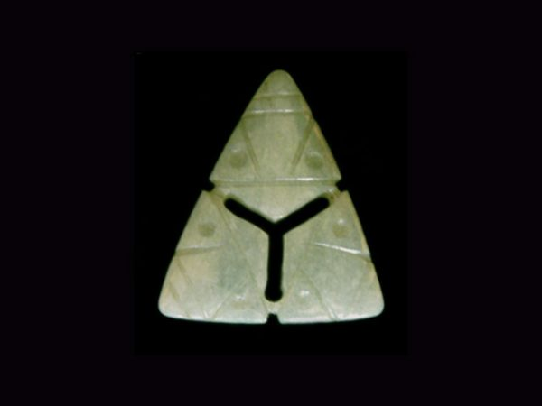 triad of three heads amulet