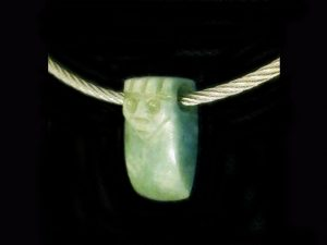 axe head amulet on cable 2