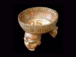 anthropomorphic tripod bowl