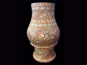 mesoamerican baroque late period vessel