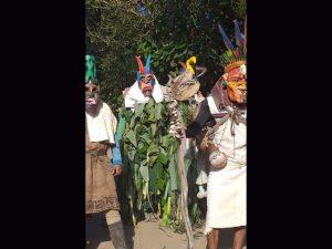 diablito in trance used native ceremonial mask Costa Rica context