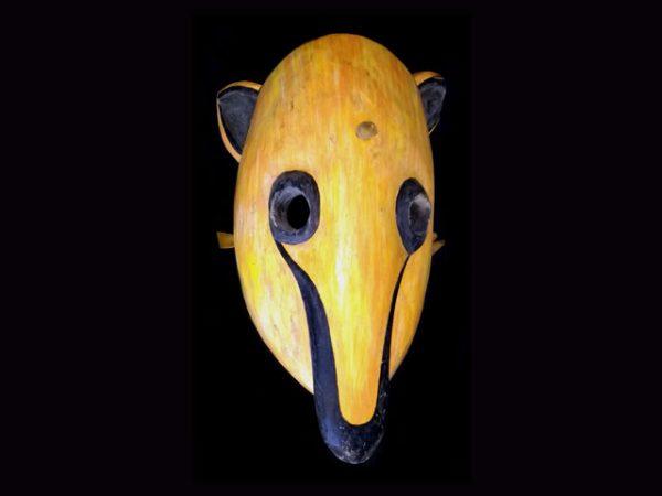 anteater spirit used Brunka ceremonial mask Costa Rica