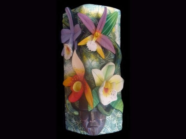 neo-tropical orchid protector indigenous art Costa Rica