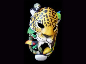 it's good to be king jaguar study Brunka indigenous mask arts Costa Rica