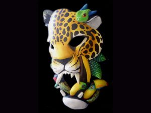 it's good to be king 2 jaguar study Brunka indigenous mask arts Costa Rica