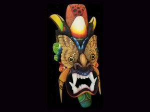 underwing false-eyes eco-diablo indigenous mask Boruca Costa Rica