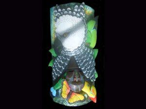 regent of the air harpy eagle 'eco-cultural' indigenouss mask Boruca Costa Rica