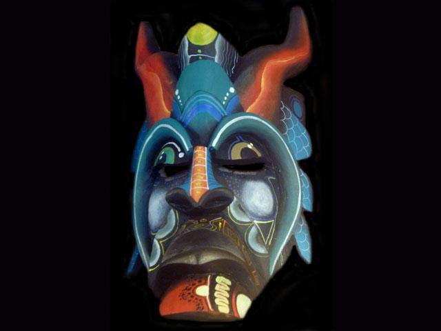Diablo Mask 003