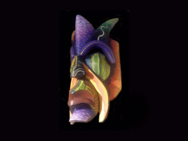arrogant Brunka traditional 'diablo' mask