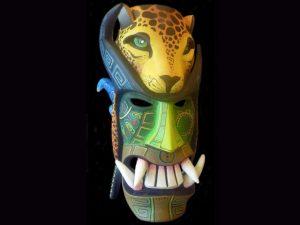 feline energy Rey Curre traditional diablo maskl