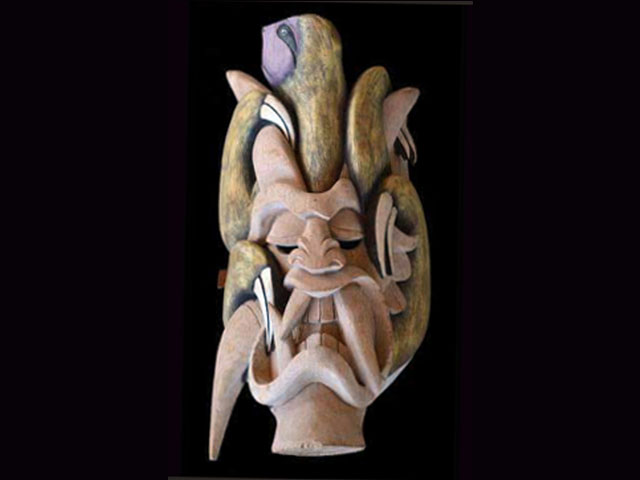 Traditional Diablo Mask 007