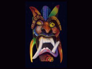 wandering eye diablito mask
