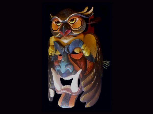 harbinger ceremonial mask Boruca Costa Rica