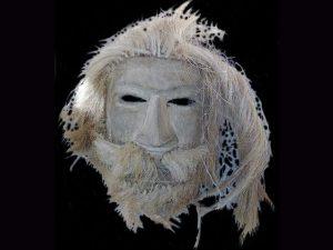 conquistador ghost mask Brunka tribe Costa Rica