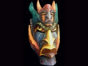 alter-ego traditional Boruca mask