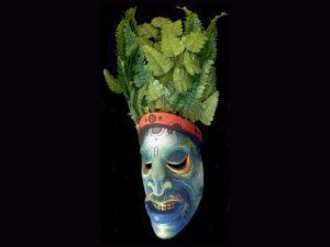 ancestral forest spirit mask, Boruca, Costa Rica
