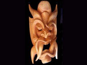 tropical cedar mask