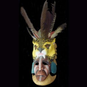 Used Ceremonial Mask 002 SOLD