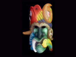 forest demon Rey Curre ceremonial mask