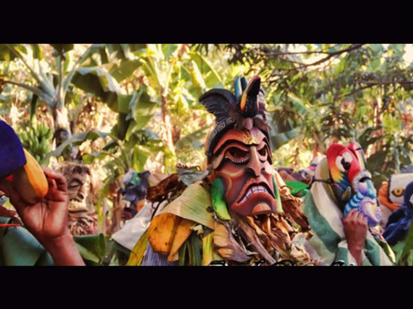 forest demon Rey Curre ceremonial mask context
