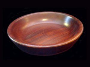 gorgeous 'guayacan' tropical hardwood bowl