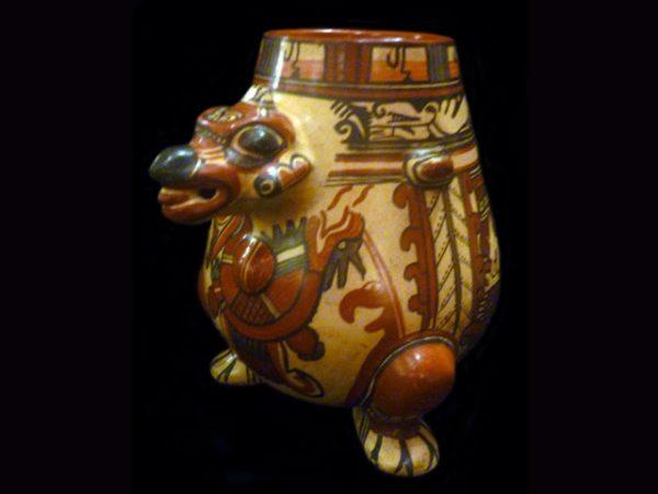 Gran Nicoya style king vulture pot