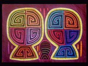 enigmatic duality Kuna mola Panama