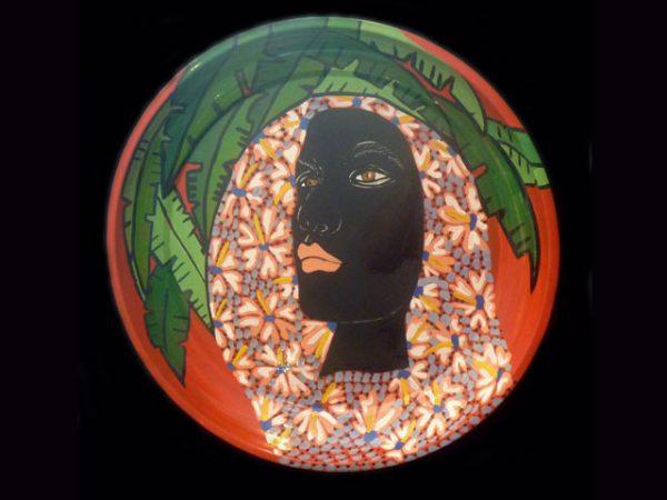 E. Barrionuevo Afro-Caribbean woman's portrait