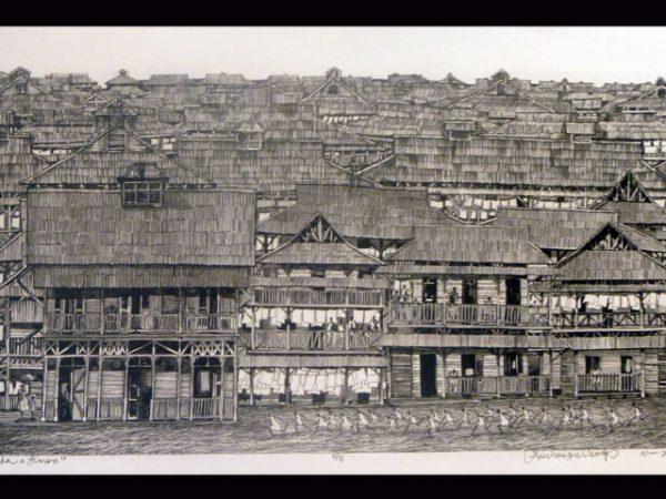 Limon neighbourhood of yesteryear