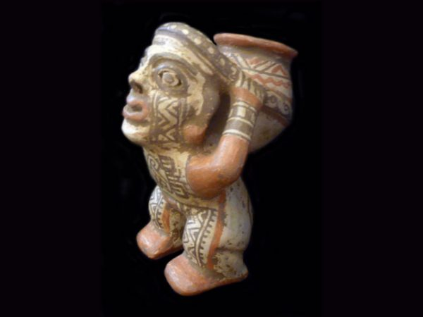 mesoamerican 'cargador' effigy figure