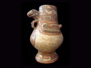 Guanacaste turkey vase