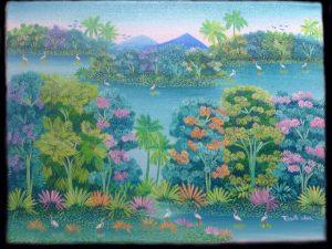 watery horizon Solentiname Lake Nicaragua