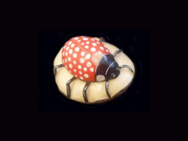 ladybug figurine