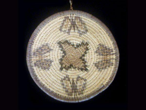 large basketry medallion