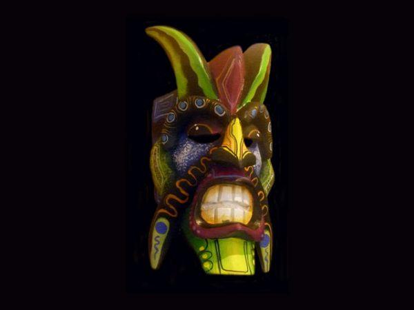 miniature indigenous ceremonial mask