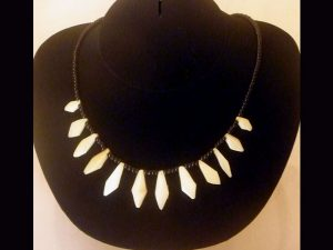 traditional unisex tribal necklace