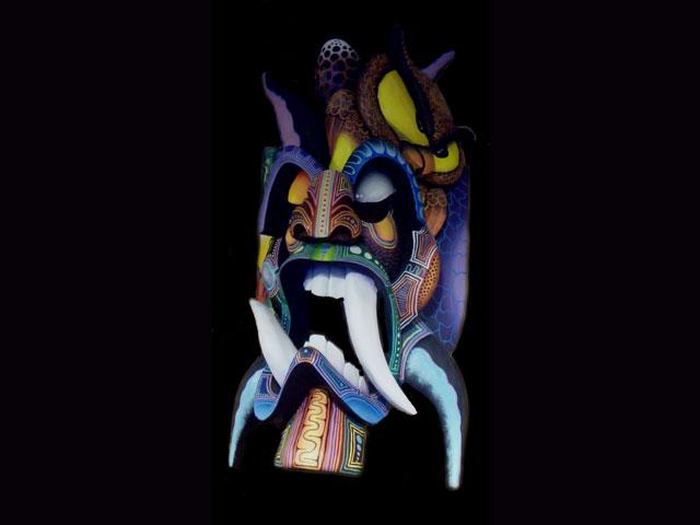 Brunka Traditional Diablo Mask 0007