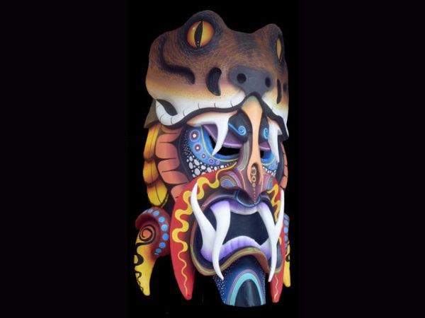 Traditional Diablo Mask 006
