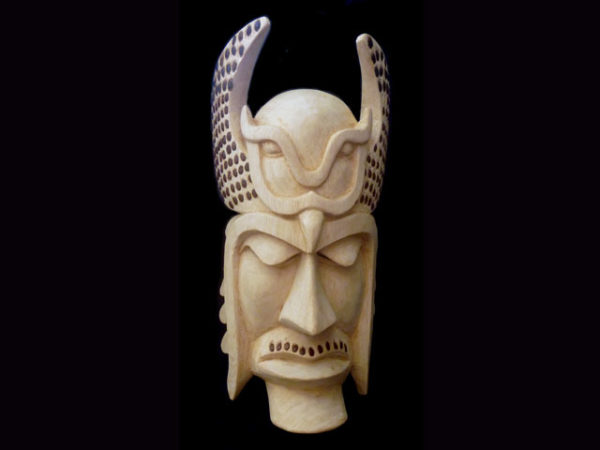 Traditional Diablo Mask 009