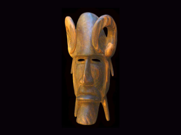 Traditional Diablo Mask 016
