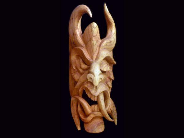 Traditional Diablo Mask 018