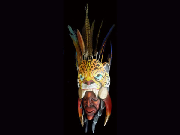 Used Ceremonial Mask 021 SOLD