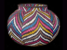 Tribal Designs Basket 001