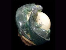 Carved Tagua Reptile 0001