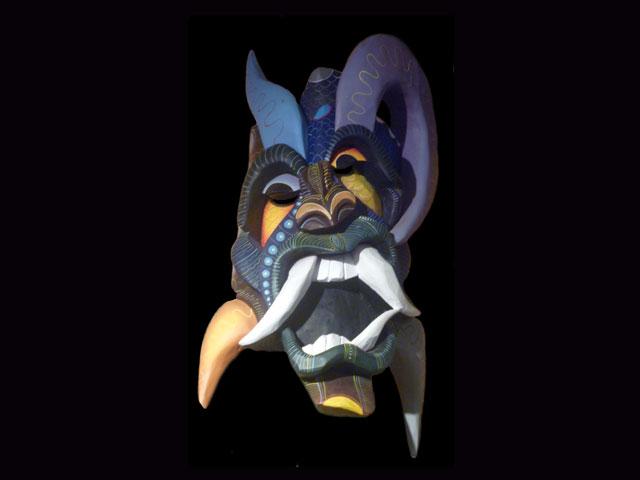 Traditional Diablo Mask 017