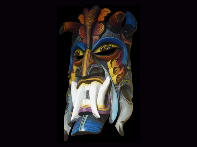 Traditional Diablo Mask 007