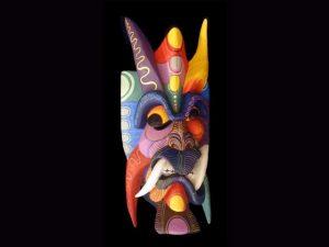 Traditional Diablo Mask 008