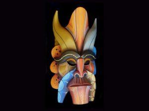 Traditional Diablo Mask 010