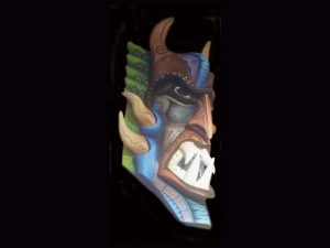 Traditional Diablo Mask 011