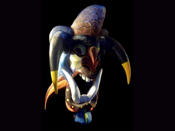 Traditional Diablo Mask 012